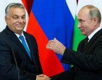 Viktoras Orbanas padėkojo Putinui už pagalbą įveikiant ES sankcijų pasekmes