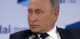 Putinas: mes pateksime į rojų, o agresorius nudvės po mūsų branduolinio atsako