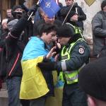 patriotas_su_Ukrainos_veliava