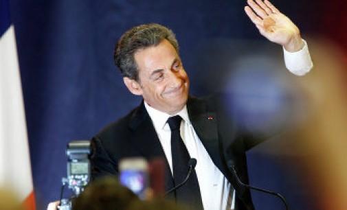 Sarkozy išplėšė pirmą vietą iš Marin Le Pen Prancūzijos departamentų rinkimuose
