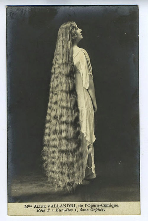 Long Hair Victorian Lady (1)