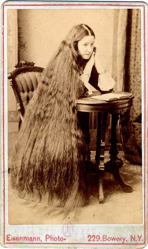 Long Hair Victorian Lady (10)