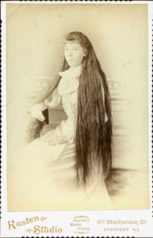 Long Hair Victorian Lady (12)
