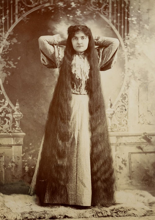 Long Hair Victorian Lady (7)