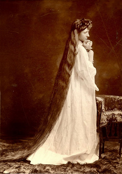 Long Hair Victorian Lady (9)