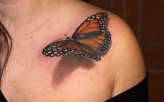 3D erdvinės tatuiruotės