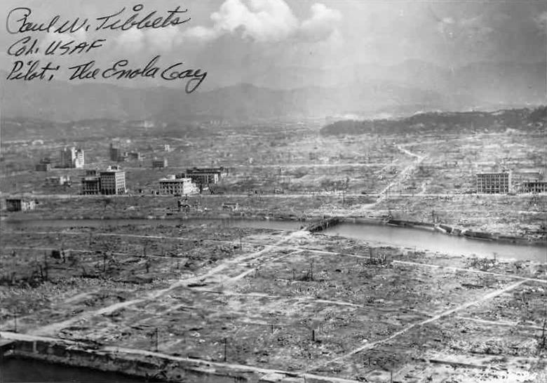 Hirosima po branduolinio sprogimo