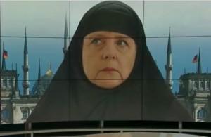 Angela Merkel hidžab