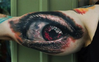 Erdvinės 3D tatuiruotės 2
