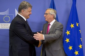 Porošenko ir Junkeris