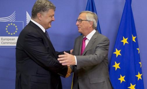 ES vykdomoji valdžia rengiasi palaikyti bevizio režimo su Ukraina įvedimą