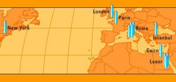 Kleopatros adatų žemėlapis
