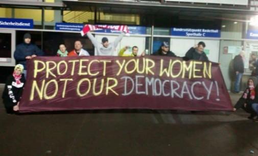 Apsaugokite savo moteris, o ne mūsų demokratiją!