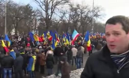 BBC:  ES ir Rusijos šalininkai Moldovoje susivienijo prieš vyriausybę