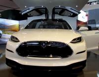 Tesla Model X elektromobilis