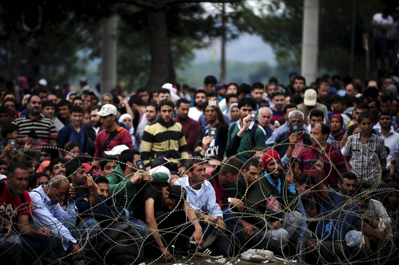 migrantai Graikijoje