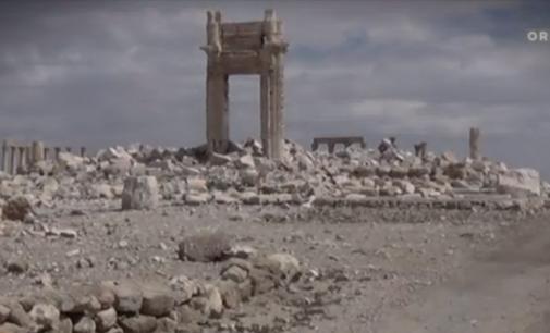 ORF: Palmiros griuvėsiai tapo teroro ir barbariškumo simboliu