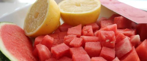 arbūzas su citrina