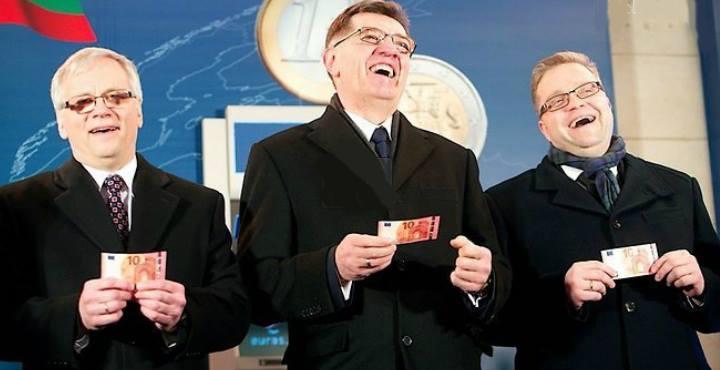 Jie šventai prisiekinėjo, kad įvedus eurą kainos nekils