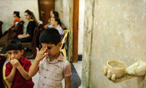 Tylus krikščionių išnykimas Rytuose