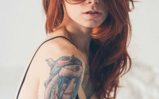 Merginų tatuiruotės