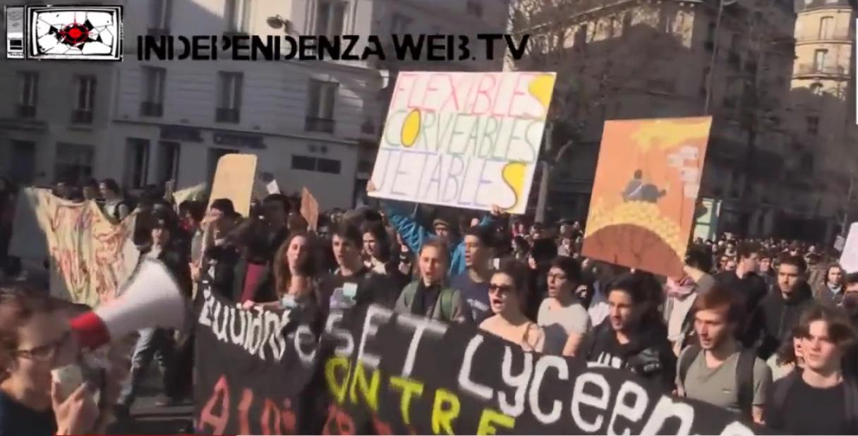 Paryžiaus demonstracijos
