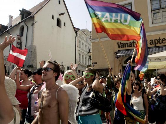 Estijos homoseksualų paradas