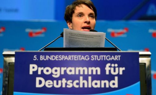 Vokietijos dešinieji priėmė antiislamišką manifestą
