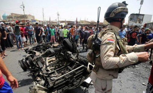 Trys sprogimai Bagdade: virš 80 žuvusių