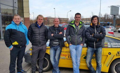 Užsispyrę žemaičiai ENEOS 1000 km lenktynėse ruošiasi nustebinti