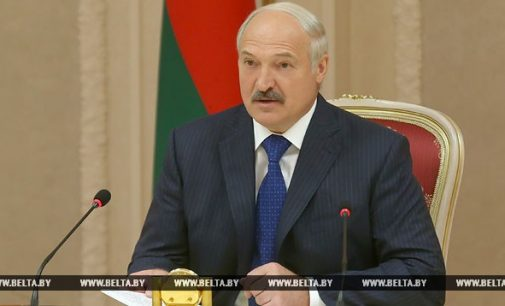 Lukašenka: Konflikto su NATO atveju stosime į mūšį kartu su Rusija