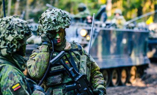 Patvirtintas ribinis Lietuvos karių, budėsiančių tarptautinėse greitojo reagavimo pajėgose, skaičius