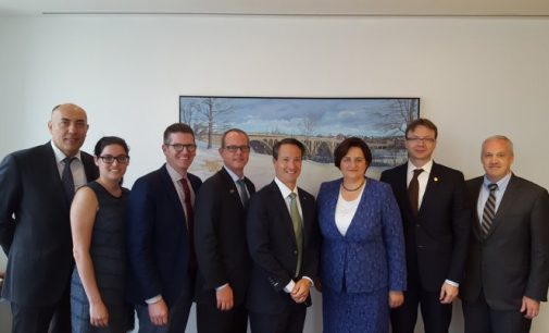 Vašingtone L. Graužinienė diskutavo su Amerikos–Lietuvos verslo tarybos nariais apie inovacijų pritraukimą į Lietuvą