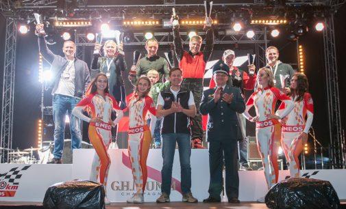 Drago lenktynėse pergale džiaugėsi A. Beniušienė