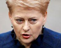 RFI: Lietuva apkaltino Rusiją šnipinėjant Dalią Grybauskaitę