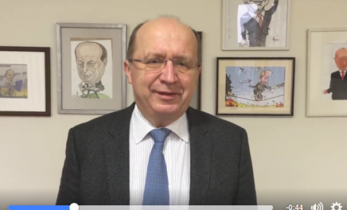 Andrius Kubilius, kaip kandidatas į ET generalinio sekretoriaus postą – dalins interviu