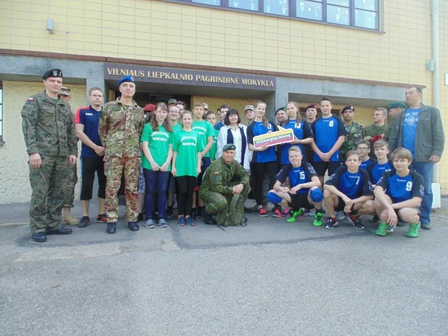 NATO su Lietuvos vaikais