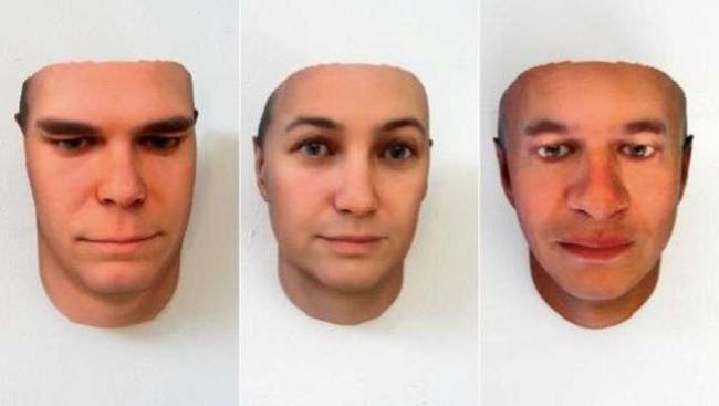 portretai iš DNR