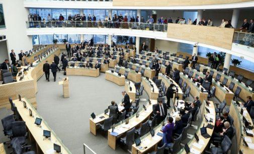 Inicijuojama interpeliacija krašto apsaugos ministrui J. Olekui