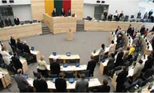 Seimas iš naujo svarstys naujojo Darbo kodekso projektą