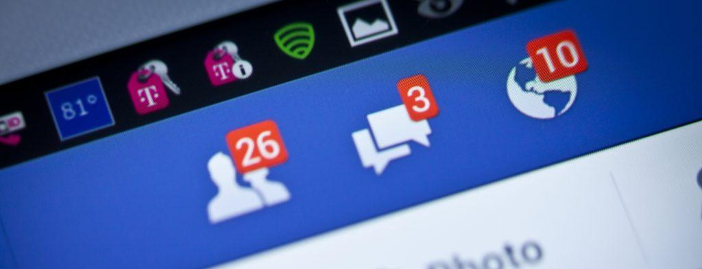 Facebook pranešimai