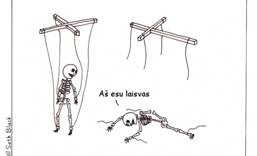 Paulius Radvanskis. Laisva marionetė
