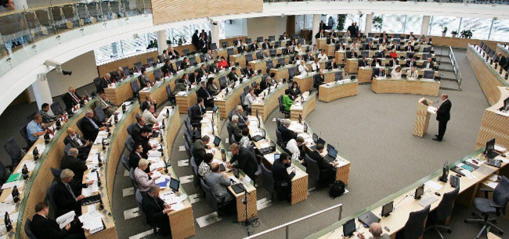 Kitą savaitę darbą pradės 2016–2020 metų kadencijos Seimas