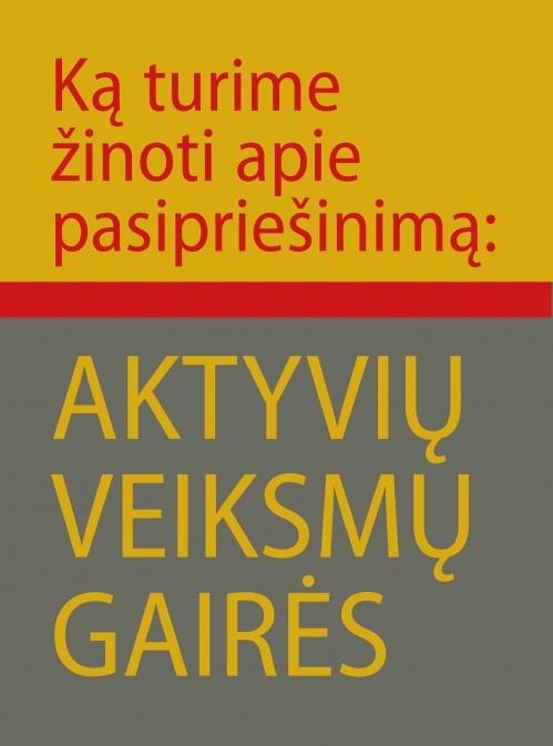 knyga: Aktyvių veiksmų gairės