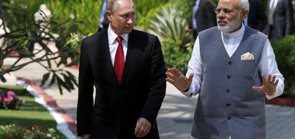 """Indijos premjeras Putinui: """"Senas draugas geriau už du naujus"""""""