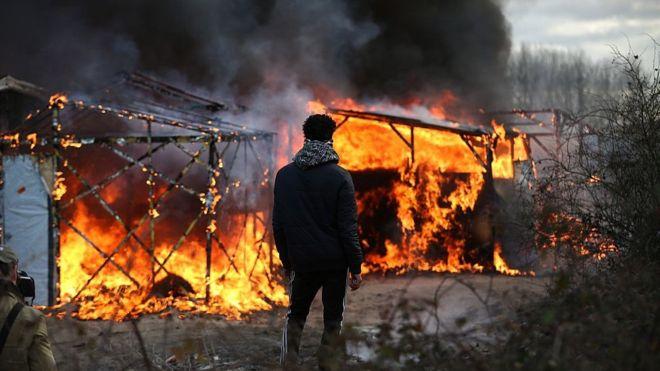 deganti Kalė stovykla
