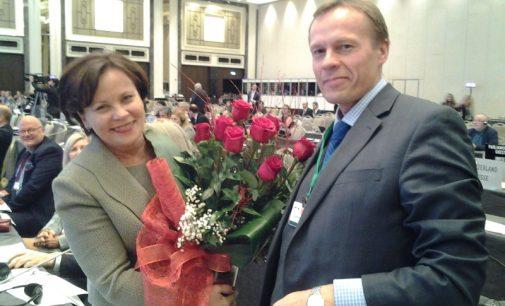 Rasa Juknevičienė išrinkta NATO Parlamentinės Asamblėjos viceprezidente