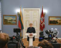 Lietuvos Respublikos Prezidentės Dalios Grybauskaitės pareiškimas dėl Vyriausybės sudėties