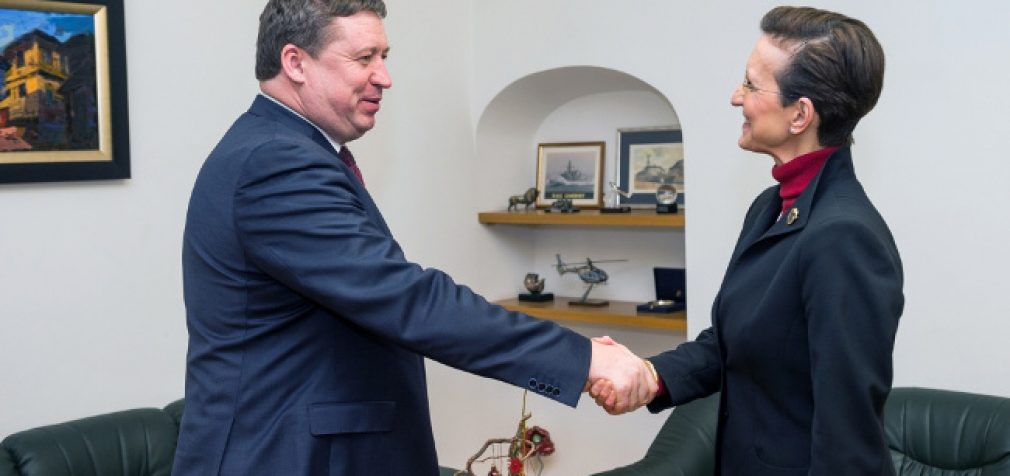 KAM ministras su Vokietijos ir Nyderlandų ambasadoriais aptarė bendradarbiavimo gynybos srityje klausimus