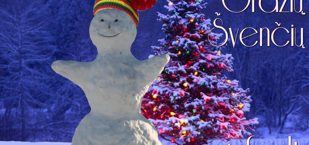 Su artėjančiomis šventėmis, su šv. Kalėdomis, Lietuva!